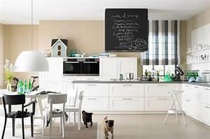 Küche Farbe Wand : sandt ne und wei machen die k che freundlich bild 19 sch ner wohnen ~ Markanthonyermac.com Haus und Dekorationen