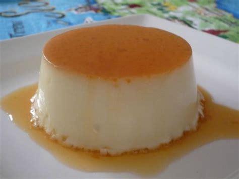 recette flan au lait de coco