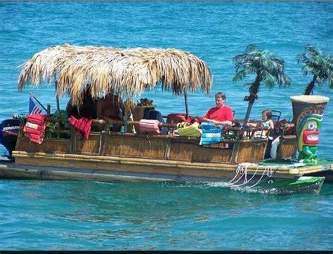 Tiki Party Boat Miami by Tiki Boat Tiki Pinterest Boating And Tiki Bars