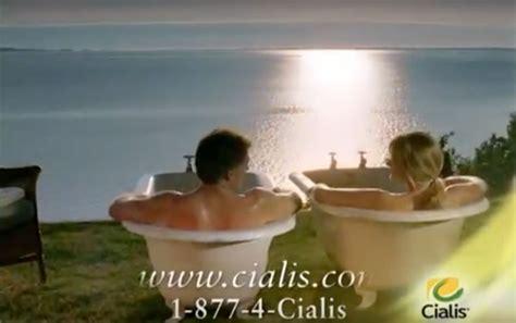 cialis commercial bathtub 2016 brandchannel brands tv ads american