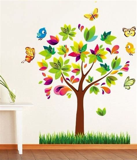 syga 3d colorful tree buy syga 3d colorful tree at best prices in india on snapdeal