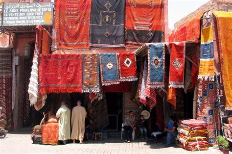 panoramio photo of le souk principal de tapis marrakech morocco