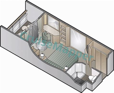 millennium cabins and suites cruisemapper