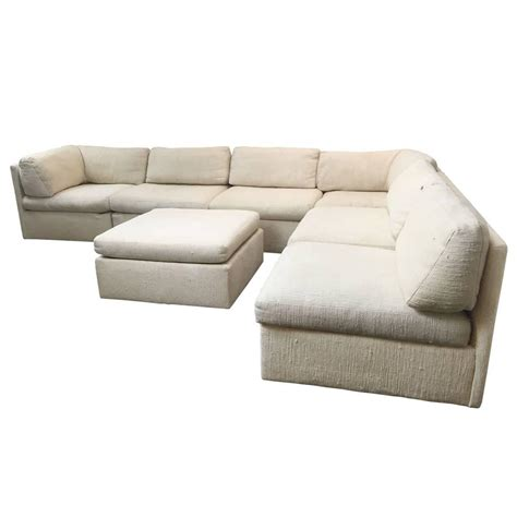 sectional sofa by milo baughman for thayer coggin at 1stdibs