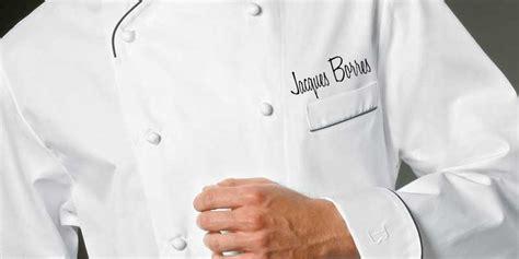 veste de cuisinier brod 233 e