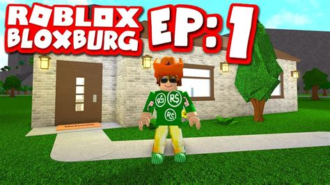 Bloxburg #1  My Brand New Home (roblox Welcome To