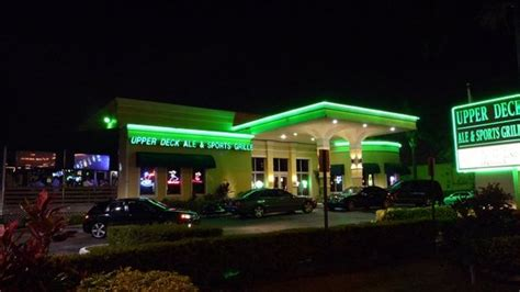 outside picture of deck ale sports grille hallandale tripadvisor