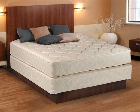 Comfort Classic Gentle Firm Beige Twin Size Mattress And