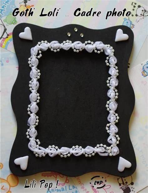cadre photo noir blanc style lili pop