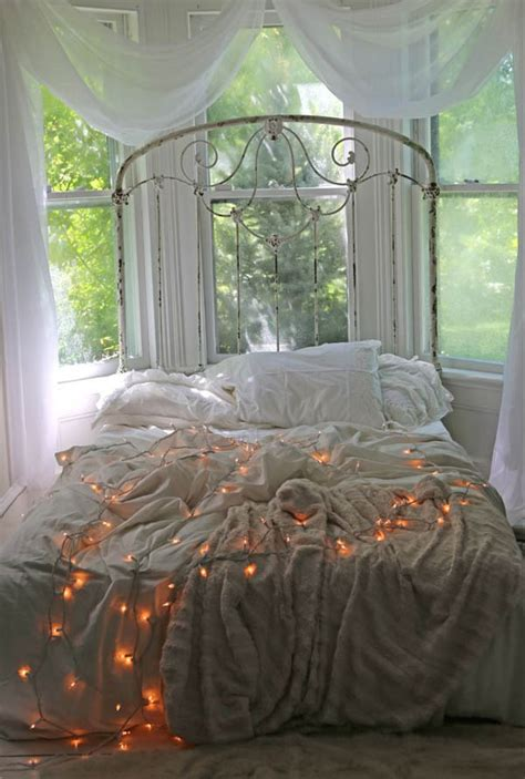 Christmas Lights In The Bedroom