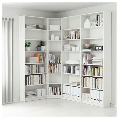 Billy Bookcase White 215135 X 237 X 28 Cm Ikea