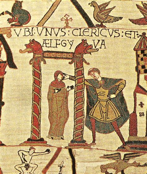 bayeux tapestry francophilie