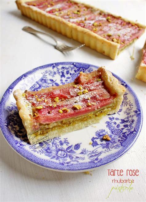 tarte rhubarbe et pistache blogs de cuisine