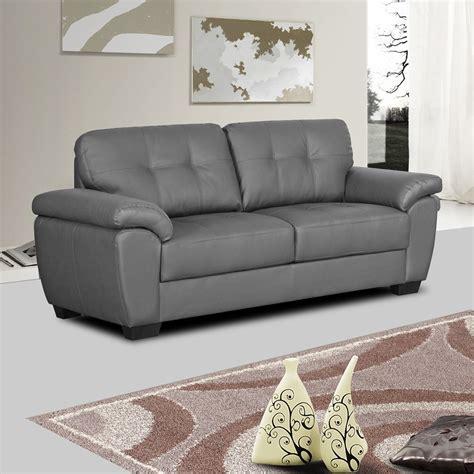 gray leather sofa modern grey leather sofa sam levitz