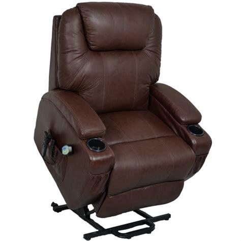 fauteuil relax massant chauffant releveur cuir kalinka 2 moteurs