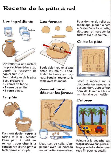 comment faire de la pate a sel