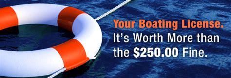 Alabama Fine For No Boating License by Boat License Canada Boatinglicense Ca