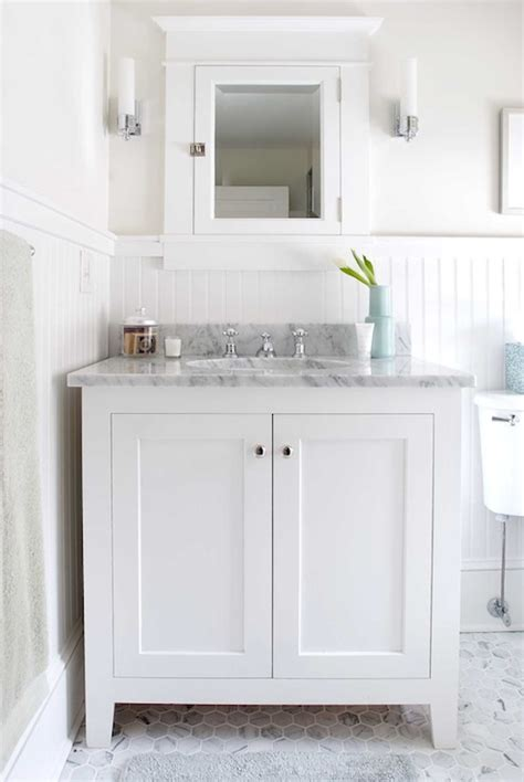 White Beadboard Bathroom  Cottage  Bathroom Papyrus