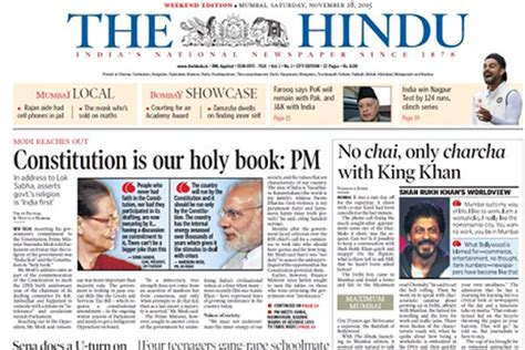 The Hindu Launches Mumbai Edition With Premium Tag  Advertising  Campaign India