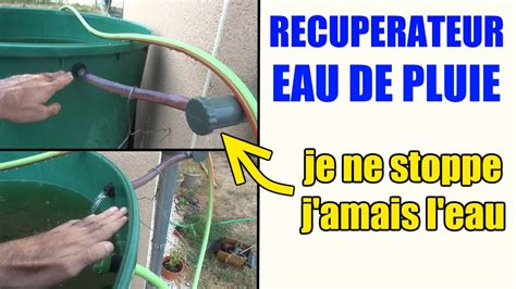 r 233 cup 233 rateur d eau arr 234 ter automatique l eau de pluie