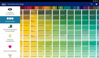 dulux interior gloss paint colour chart dulux visualizer android apps on play with