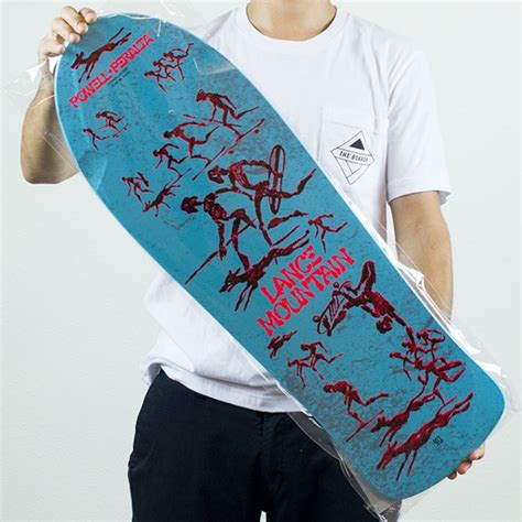 lance mountain future primitive reissue deck blue in stock at the boardr