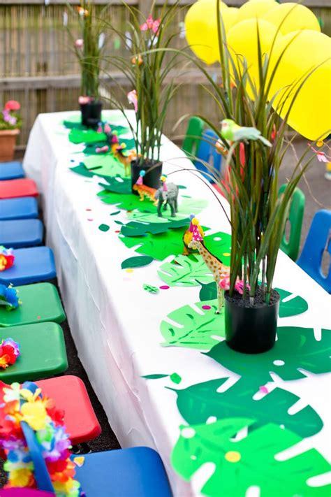 Kara's Party Ideas Tropical Rainforest Jungle Animal