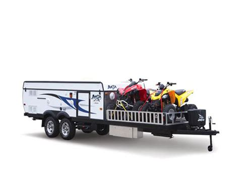 Toy Fishing Boat And Trailer by Toy Hauler Type Travel Trailers Advice From Owners