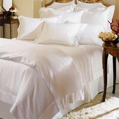Milos By Sferra Luxury Bed Linens Queen Set  World's Best