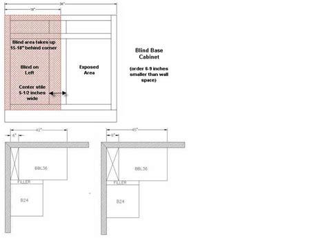 blind base corner cabinet dimensions bar cabinet