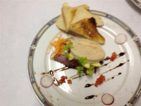 assiette de foie de gras photo de hotel du grand cerf neufchatel en bray tripadvisor