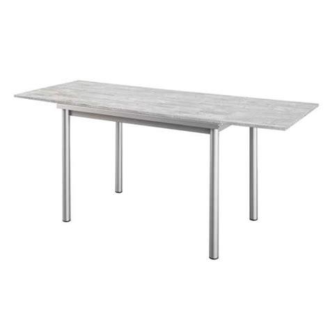 table de cuisine en stratifi 233 avec rallonges basic 4