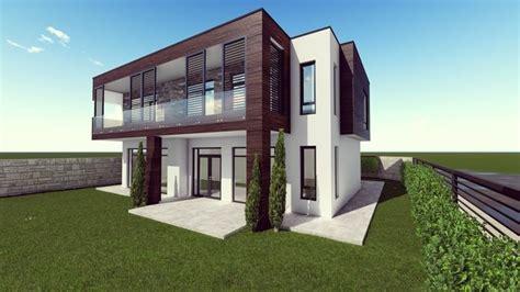 Modern House 3d Model Gameready Cgtrader
