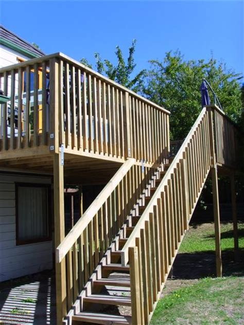 Deck Stairs Calculator Nz by Joinery Photos Chamberlain Carpentry And Joinery