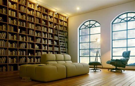 Elegant Home Library [900x560]