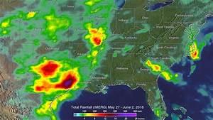 NASA looks at rainfall in Texas and Oklahoma flooding