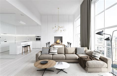 interior living room spacious modern living room interiors
