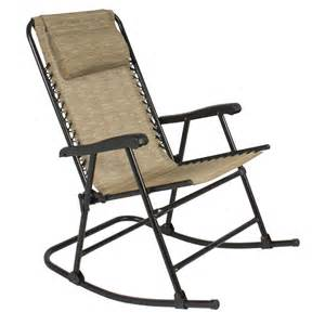 Csmart Folding Rocking Chair by Folding Rocking Chair Foldable Rocker Outdoor Patio