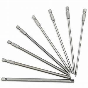 150mm 8pcs S2 Steel Hex Torx Head Drill Screwdriver Set ...