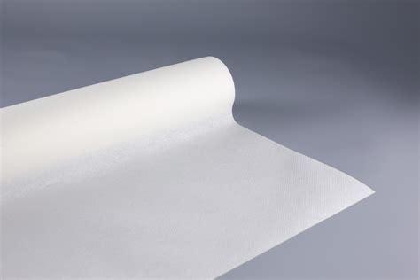 nappe en papier jetable non tiss 233 1 20 m x 10 m blanc rouleau nappe jetable fournimag