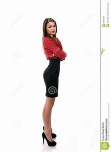 Business Manager Posing With Her Arms Crossed Royalty-Free ...