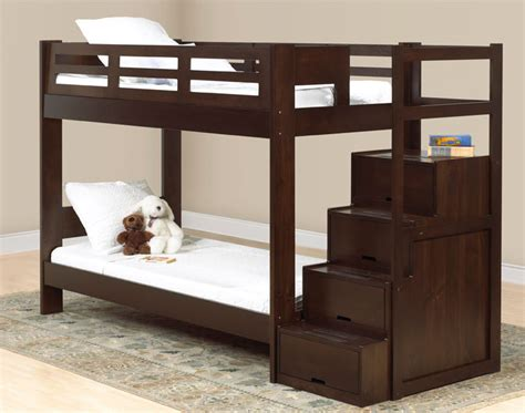 lit superpose avec marche atlub