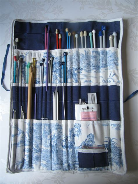 tricoter un range aiguilles