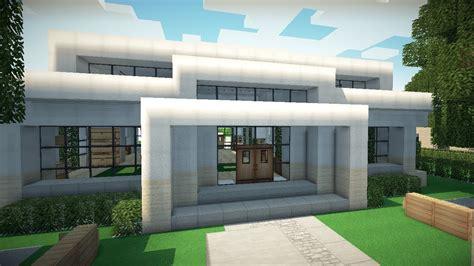Minecraft Small Modern House Youtube