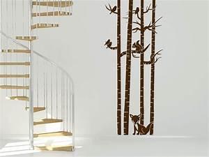 Kratzbaum Echter Baum : wandtattoo baumst mme mit tieren wandtattoo de ~ Markanthonyermac.com Haus und Dekorationen