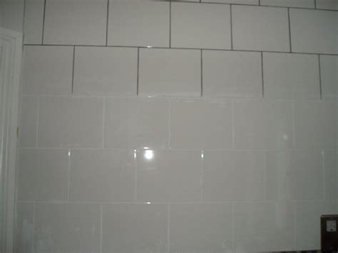 grout the tile and