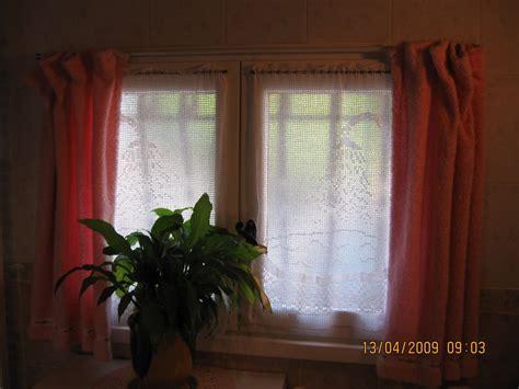 rideaux salle de bain photo de mes r 233 alisation au crochet quot la aux tresors quot