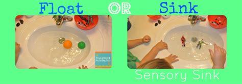 sink or float sensory sink learning activity for the fspdt