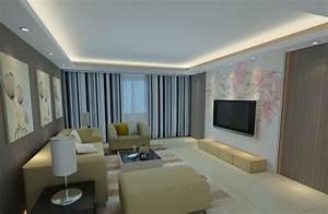 Beleuchtung Im Wohnzimmer : 30 fotos von origineller wohnzimmer wandgestaltung ~ Markanthonyermac.com Haus und Dekorationen