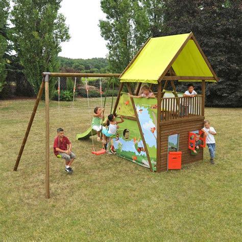 aire jeux jardin jeux plein air enfants design de maison